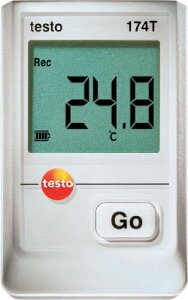 テストー ミニ温度データロガ【TESTO174T】(計測機器・温度計・湿度計)