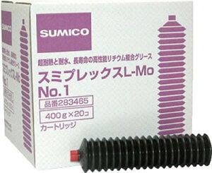 住鉱 グリース(耐熱耐水高荷重用) スミプレックスL−MO No.1 400g【283465】(化学製品・グリス・ペースト)