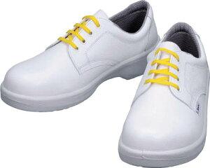 シモン 静電安全靴 短靴 7511白静電靴 26.5cm【7511WS-26.5】(安全靴・作業靴・静電安全靴)