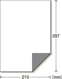 A−one 屋外用サインラベル(レーザープリンタ)下地が透けないタイプ【31040】(安全用品・標識・安全標識)