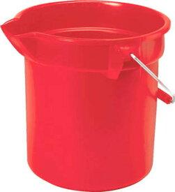 ラバーメイド ブルートバケツS・レッド 9.5L【2963-RED】(清掃用品・バケツ)