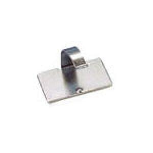 パンドウイット 固定具 VHB粘着テープ付きメタルコードクリップ【MACC62-AV-C】(電設配線部品・ケーブルタイ)
