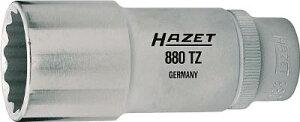 HAZET ディープソケットレンチ(12角タイプ・差込角12.7mm)【900TZ-15】(レンチ・スパナ・プーラ・ソケット)