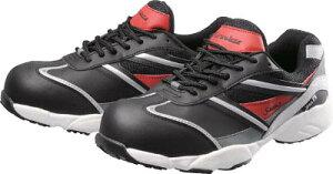 シモン プロテクティブスニーカー KA211黒/赤 27.0cm【KA211BK/RED-27.0】(安全靴・作業靴・プロテクティブスニーカー)
