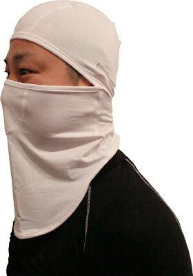 おたふく 冷感・消臭 パワーストレッチフルフェイスマスク ホワイト【JW-614-WH】(冷暖対策用品・暑さ対策用品)