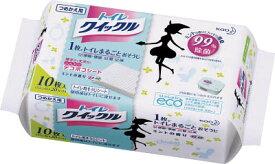Kao トイレクイックル つめかえ用 10枚入【10940】(労働衛生用品・トイレ用品)