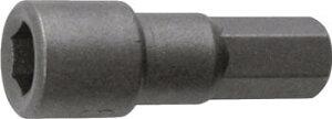 TRUSCO ボックスビット 10mm【TRDB-10】(ドライバー・六角棒レンチ・オフセット式ラチェットドライバー)