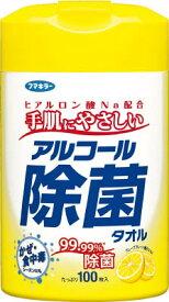 フマキラー アルコール除菌タオル100枚入【433739】(労働衛生用品・除菌衛生用品)
