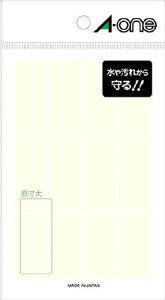 A−one 透明保護ラベル 19×45mm【8379】(OA・事務用品・ラベル用品)