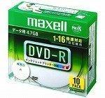 マクセル DVD−RDR47WPDS1P10SA DR47WPD
