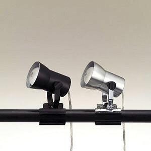 東京メタル工業 クリップライト照明 PF302PB 黒(代引き不可)