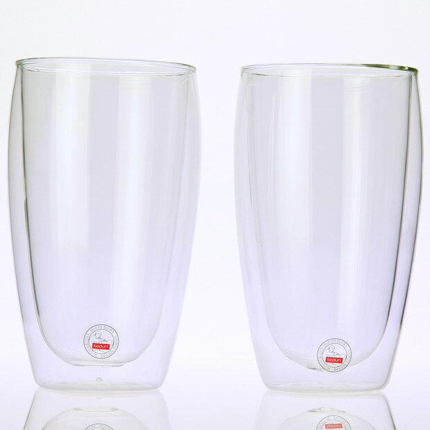 bodum ボダム ダブルウォールグラス 0.45L 2個セット PAVINA 4560-10US【あす楽対応】【S1】