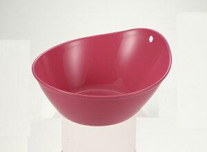 風呂桶 湯おけ 洗面器 湯おけ ハユール ピンク EX(代引き不可)