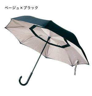 二重傘circusサーカスドット柄EF-UM01ドット柄長傘アンブレラ女性男性傘逆さ傘濡れ傘濡れた傘対策自動車乗り降り(代引不可)【送料無料】【smtb-f】
