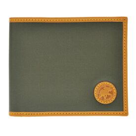 ハンティングワールド 310 10A BATTUEOR GREEN 二つ折り財布(小銭入れ付) HUNTING WORLD/ハンティングワールド/二つ折り財布(小銭入れ付)/二つ折り財布/GREEN/BATTUE ORIGIN/メンズ/310 10A