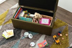 スツール収納BOXSTOOLボックス収納ボックス収納スツールベンチオットマンおもちゃ箱PVCレザーファブリック2P【送料無料】【smtb-f】