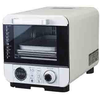 ピエリア コンベクションオーブン オーブントースター COR-100B ノンオイルフライ 温度調節機能 コンパクト ドウシシャ【送料無料】【smtb-f】