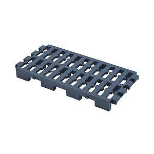 ベストコ 連結できるマルチパレット 37.5×74cm ネイビー Free storage 連結できる すのこ 日本製 MA-2262