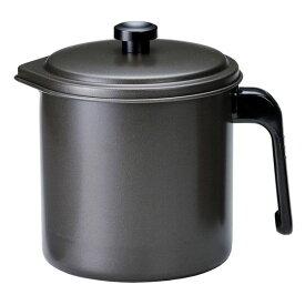 高木金属工業 油こし器 プレシャス オイルポット 2重口 1.3L (キッチン 油 ポット)