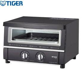 タイガー魔法瓶 オーブントースター やきたて KAT-B130KM W断熱ガラス トースター【送料無料】