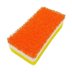オーエ カビ・湯あか取りスポンジ オレンジ 約14×7×4.5cm 日本製