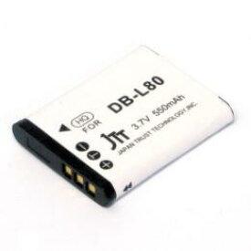 日本トラストテクノロジー デジタルカメラ 互換バッテリー SANYO対応 MBH-DB-L80(代引き不可)