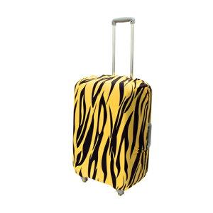 ミヨシ 撥水加工付スーツケースカバ- Mサイズ トラ柄 MBZ-SCM2/TG 雑貨 キャリングバッグ(代引不可)