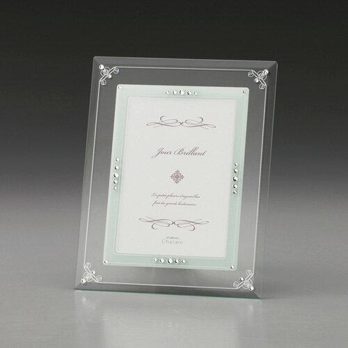 ガラスフォトフレーム C8063065 C8063065 雑貨・ホビー・インテリア ノーブランド