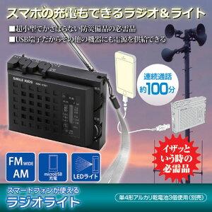 旭電機化成 スマートフォンが使えるラジオライト 811745(代引不可)
