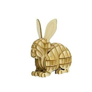 エーゾーン Wooden Art ki‐gu‐mi ウサギ KGM10530(代引不可)【送料無料】
