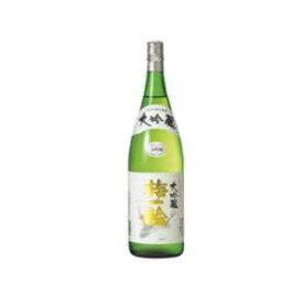 日本酒 超特撰 梅一輪 大吟醸 箱入 1800ml(代引き不可)【S1】