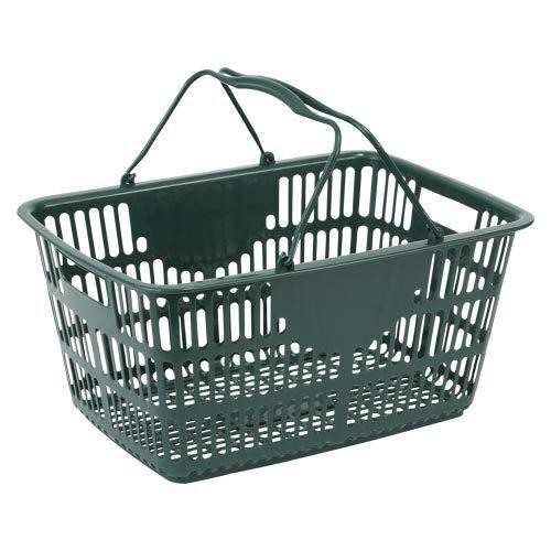 ナンシン ショッピングバスケット ダークグリーン365×510 1 個 NSW-33 文房具 オフィス 用品
