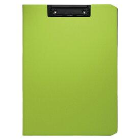 ソニック クリップファイル ソフィット A4タテ グリーン 1枚