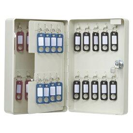 カール事務器 キーボックス コンパクトタイプ 38個収納 アイボリー CKB-C38-I 1個