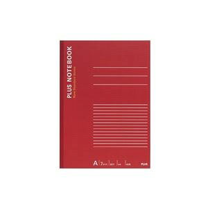 (まとめ買い)プラス ノートブック NO-204AS A4 A罫 【×20セット】