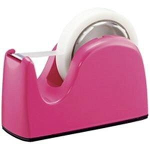 (まとめ買い)プラス テープカッター TC-301 ピンク 【×10セット】
