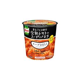 【まとめ買い】味の素 クノール スープDELI 完熟トマトのスープパスタ 41.9g×18カップ(3ケース)