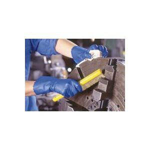 (まとめ買い)ショーワグローブ ゴム手袋ブルーフィット Lサイズ 181 【×40セット】