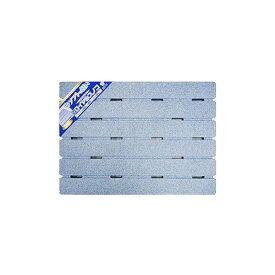 厚型ロイヤルスノコ(発泡風呂すのこ/バスマット) 幅60cm×長さ85cm×厚さ3.6cm 軽量 日本製 ブルー(青)【代引不可】