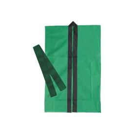 (まとめ)アーテック ロングハッピ不織布 緑 J(ハチマキ付) 【×30セット】