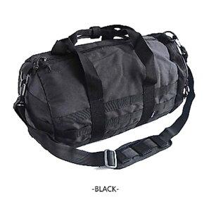 アメリカ軍防水布使用モール対応ボストンバック BH054YN ブラック 【レプリカ】