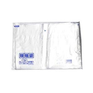 規格袋 13号100枚入03LLD透明 K13 【(30袋×5ケース)合計150袋セット】 38-458