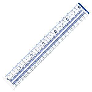 (まとめ) コクヨ 方眼直線定規 30cm CL-RG30 1個 【×20セット】