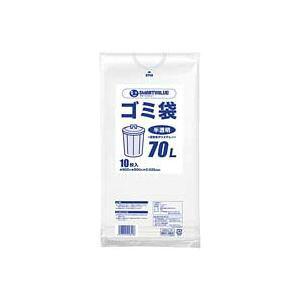 (業務用100セット) ジョインテックス ゴミ袋 LDD半透明 70L 10枚 N209J-70 ×100セット
