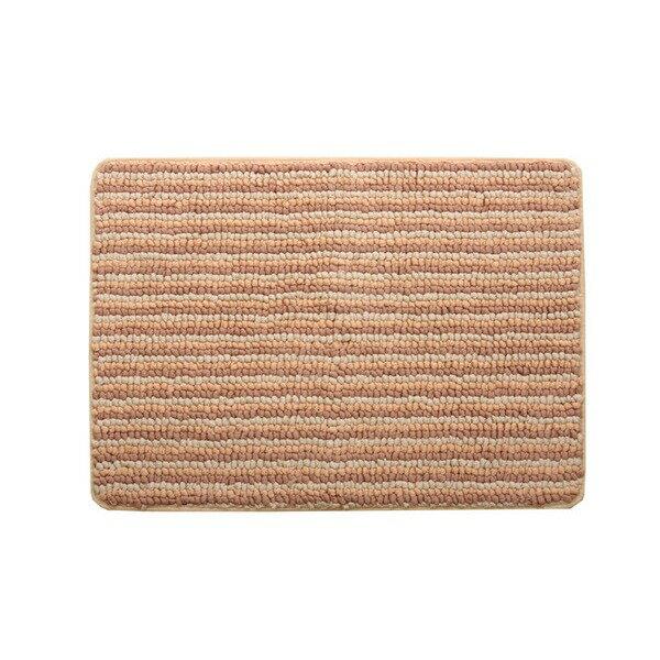 バスマット 洗える 抗菌防臭 吸水 部屋干しOK 『プラチナクリーン ナリ』 ベージュ 約35×50cm