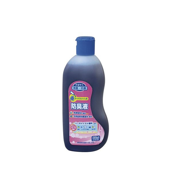 (まとめ)アロン化成 消臭剤 ポータブルトイレ用防臭液 533-204【×3セット】