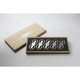 能作(nousaku) 錫器 箸置 - 「8」 - 5ケ入