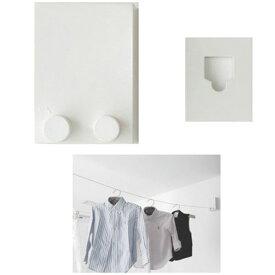 室内物干し金具/洗濯ワイヤー 最長寸法:4m 最大荷重:10kg 森田アルミ工業 pid-4M