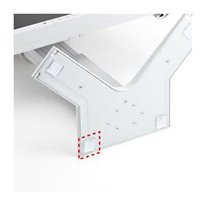 (まとめ)サンワサプライ 透明耐震ゴムG-BLOXゲル(20mm角4枚入り) QL-E85【×3セット】