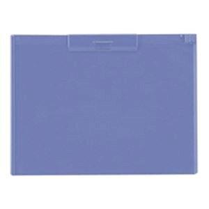 (業務用50セット) LIHITLAB クリップボード A-983U-23 B4S 青紫 ×50セット